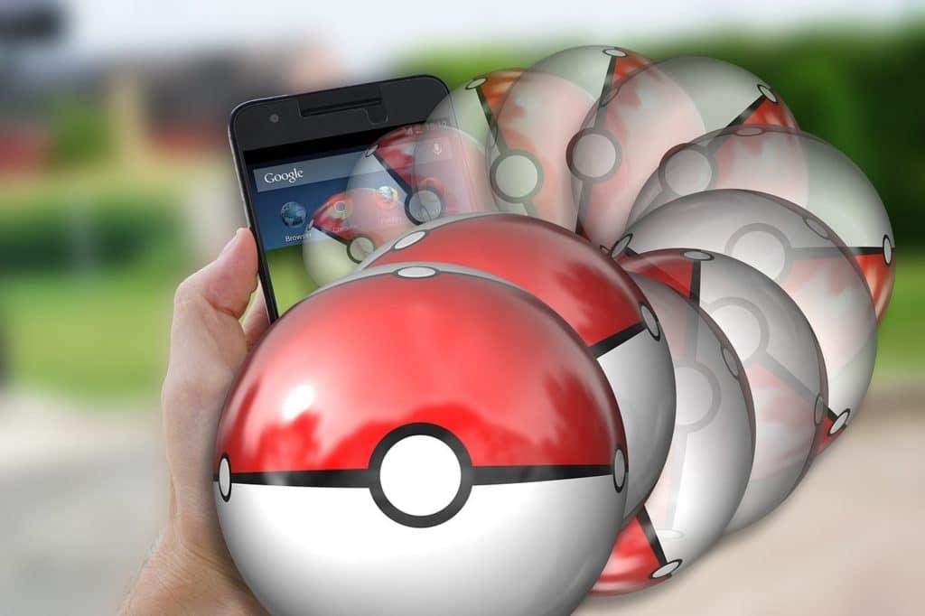 Realidade Aumentada - Pokemon Go